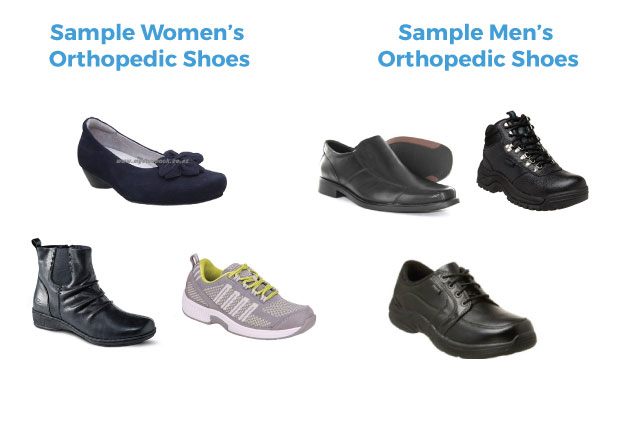 Sample Orthotic Shoes